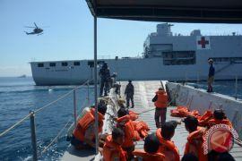TNI AL uji kemampuan evakuasi jelang pertemuan IMF-WB