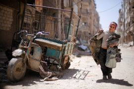 Warga Suriah mendamba damai setelah tujuh tahun konflik