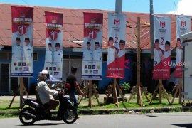 Parpol diimbau turunkan alat peraga kampanye