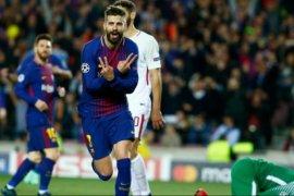 Gerard Pique berharap  Coutinho tetap bertahan di Barcelona