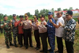 Elucidation of forest and land fires in Supadio Airport area