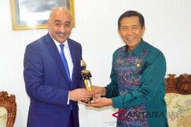 Gubernur Pastika terima kunjungan Dubes Mesir