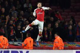 Atletico bertemu Arsenal di semifinal Liga Europa