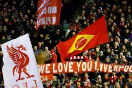 Fans Liverpool paling bising