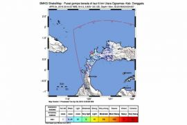 Donggala diguncang gempa 4,5 SR
