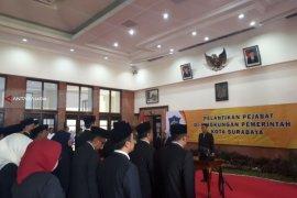 Risma Mutasi Sembilan Pejabat Eselon II Pemkot Surabaya (Video)