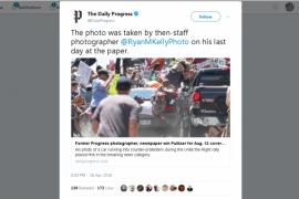 Kisah tragis fotografer pemenang Pulitzer 2018