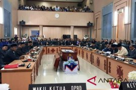 DPRD Ambon lepas jenasah anggota fraksi demokrat
