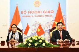 Menlu RI-Vietnam bahas kerja sama kelautan-perikanan