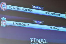 Ini komentar semifinalis Liga Champions