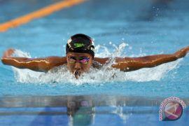 Adinda gugup tampil final 200 meter gaya kupu-kupu
