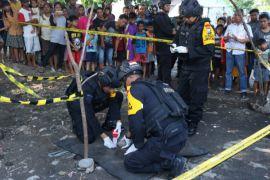 Polisi amankan temuan granat di Surabaya