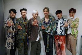 Super Junior akhiri tur di Amerika Latin