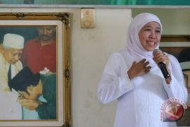 Khofifah sampaikan program Jatim sejahtera kepada Muslimat NU