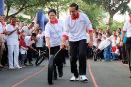 Kemarin, Setnov dipindah ke Sukamiskin hingga Jokowi main permainan tradisional