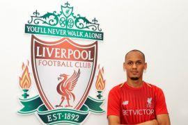 Fabinho senang dengan persaingan di lini tengah Liverpool
