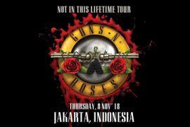 Guns N' Roses kembali ke Indonesia November
