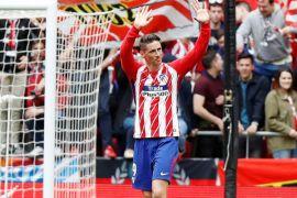 Torres cetak dua gol pada laga terakhir untuk Atletico