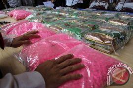 Polresta Pekanbaru sita 3,2 kg sabu-sabu
