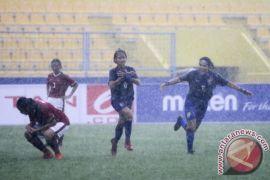 Timnas Wanita U-16 dikalahkan Thailand 4-1