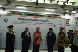 Gelar Lustrum ke-1. Unusa-KPK Tanda Tangani Pakta Integritas Antikorupsi