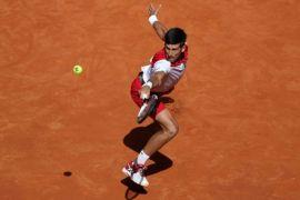 Djokovic tundukkan Verdasco untuk mencapai delapan besar