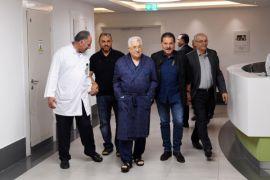 Presiden Palestina Abbas belum boleh meninggalkan rumah sakit