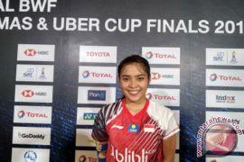 Gregoria buat Indonesia memimpin 2-1 atas Thailand