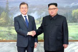 Pemimpin Korut dan Korsel bertemu mendadak jelang pertemuan Trump-Kim