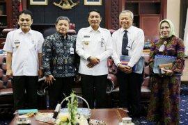 Audiensi Pjs. Gubernur Dengan Dirut Bank Lampung