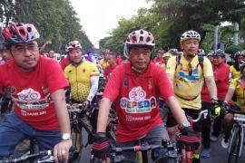 Menhub kombinasikan kampanye keselamatan dan olahraga bersepeda