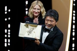 "Film Jepang ""Shoplifter"" rebut Palme d`Or Cannes"