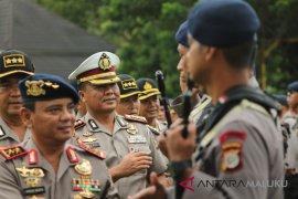 Kapolda Maluku ingatkan pengamanan jalur distribusi pangan