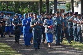 Kasal tinjau infrakstruktur darat Lanal Bengkulu