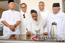 Kunjungi Serang, Menteri Rini resmikan Masjid dan Pertashop