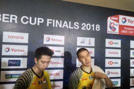 Thailand imbangi 1-1 setelah Kevin/Marcus kalah