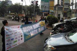 Puluhan komunitas motor gelar aksi simpatik keselamatan jalan