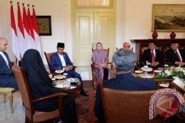Presiden Jokowi bertemu Wapres Iran di Istana Bogor