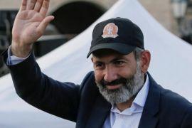 Pemimpin unjuk rasa Armenia Pashinyan jadi PM