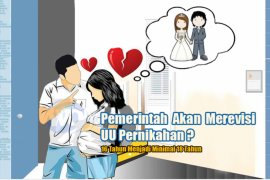 Tolak pernikahan dini, KPI minta batas minimal usia 19 tahun