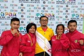 Banda Aceh raih 4 emas karate di Popda