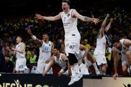 Real Madrid juara basket Eropa