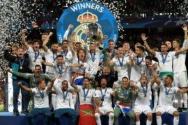 Real Madrid juara Liga Champions tiga musim beruntun, Bale cetak sejarah