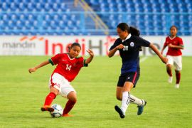 Timnas wanita U-16 kalahkan Kamboja 2-0