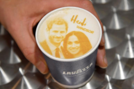 Megharryccino, kopi gambar Meghan-Harry