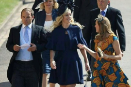 Mantan pacar hadir di pernikahan Pangeran Harry adalah pertanda baik