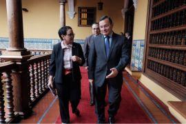 Menlu RI-Peru bahas kerja sama bilateral