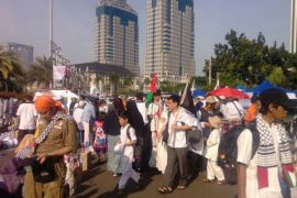 Lalu lintas Jalan Medan Merdeka dialihkan
