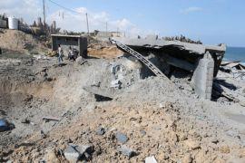 Israel serang lokasi Hamas