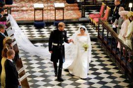 Busana pernikahan Meghan Markle dipamerkan untuk umum